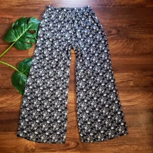 Hollister Floral Palazzo Pants